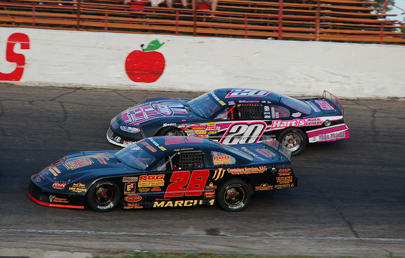 Two traveling series will be making a second appearance at Anderson Speedway this Saturday.