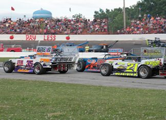 Tom Wood Stock Car Festival Returns Saturday with Outlaw Figure 8's Topping Racing Card