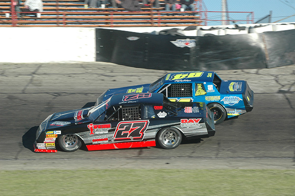 ... the Champion Racing Association's Four Crown Championship for the Lawrence Towing Street Stocks will be up for grabs at Anderson Speedway on Saturday.