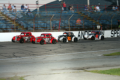 The biggest event of the season for competitors in the Legends Division at Anderson Speedway, is set for this Saturday.