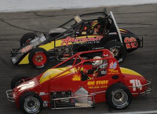 Sprint Cars return to Anderson Speedway