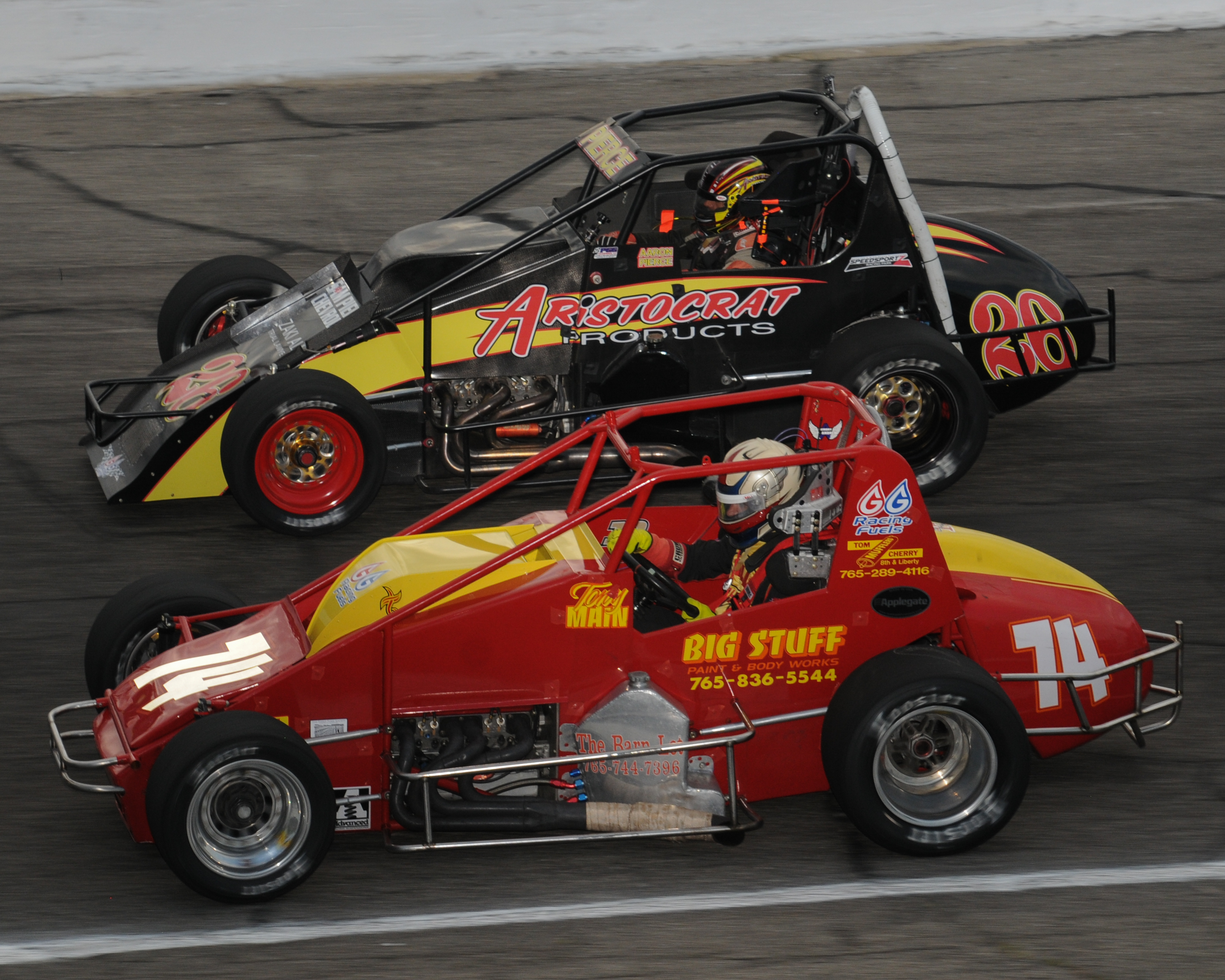 Sprint Cars return to Anderson Speedway - Anderson, Indiana