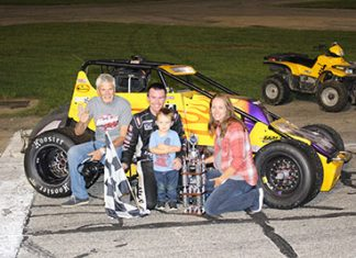 Last Lap Pass Gives Swanson Win in Niebel Classic