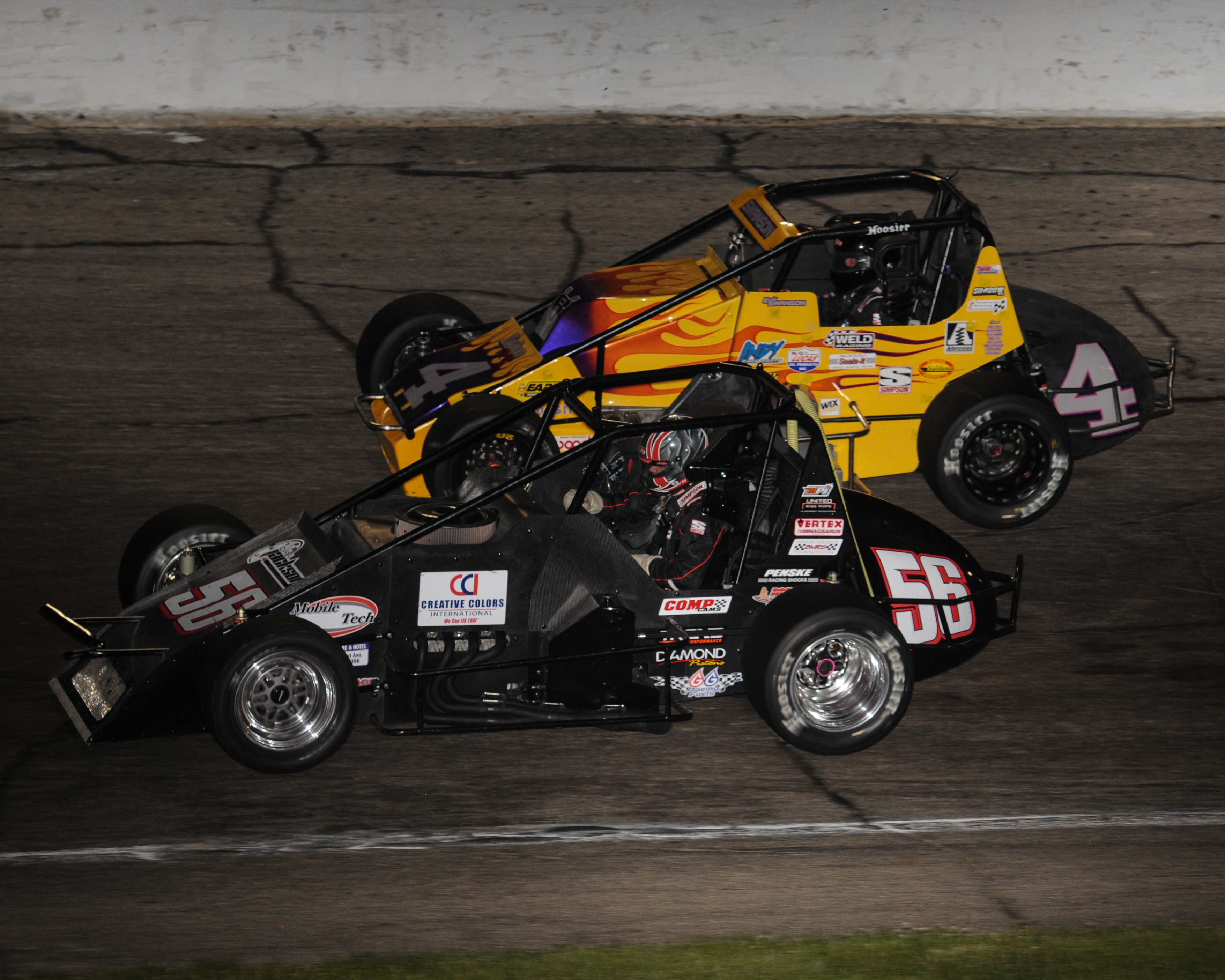 Sprint Cars Return to Action - Anderson, Indiana Speedway